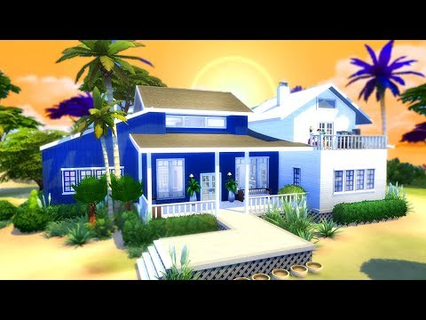 THE PERFECT BEACH HOUSE!!! |  The Sims 4 House Building