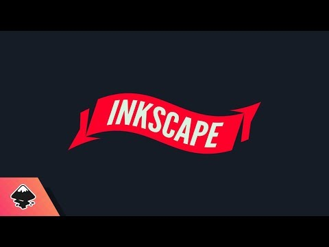 Inkscape Beginner Tutorial: Banner with Text