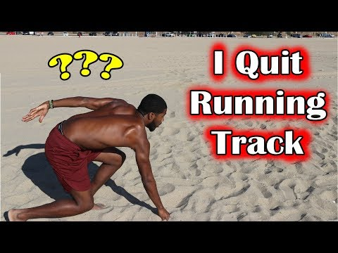 I Stopped Running Track and Field? 🏃♂️ (Killer Beach Workout)