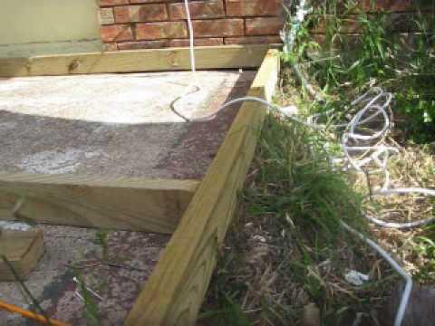 Carlos Building a Wood Deck.WMV