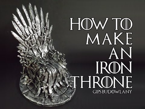How to make an Iron Throne