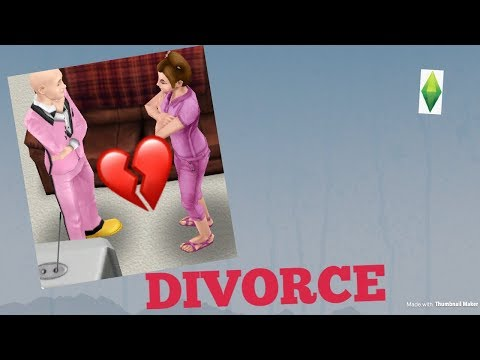 Sims FreePlay - How to divorce married sims