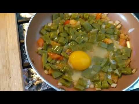 Easy  Cactus recipe (Cactus With egg, -Nopales con Huevo)