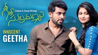 "GeetaSubramanyam | E9 | Telugu Web Series - ""Innocent Geetha"" - Wirally originals"