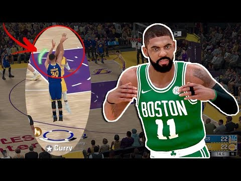 NBA 2K18 NEW SHOT METER Reveal - KYRIE in BOSTON - KOBE & KG Special Guest Commentary