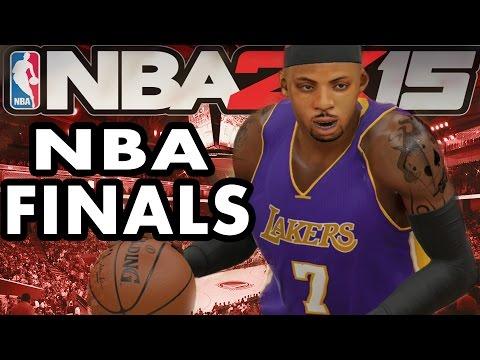 NBA 2K15 XBOX ONE My Career - NBA Finals Part 1 - Breakaway 360 Dunk!!
