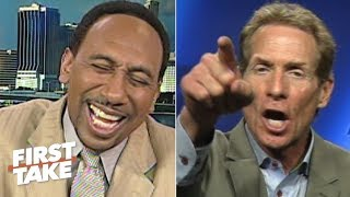 Stephen A. Smith laughs off Tiago Splitter's impact (2012)   First Take   ESPN Archive