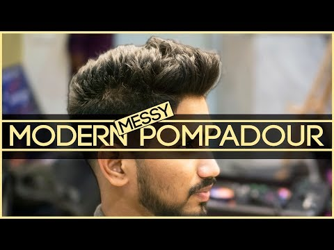 Men's Modern Messy Pompadour | How To Cut & Style Pompadour | Hair Makeover | Mayank Bhattacharya