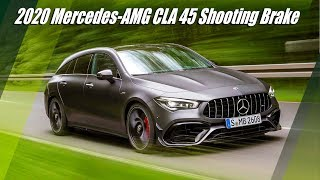 2020 Mercedes AMG CLA 45 Shooting Brake Overview