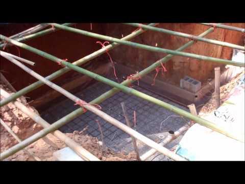 Root cellar slab.