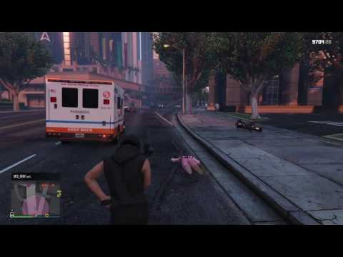 Unkillable Player | GTA Online