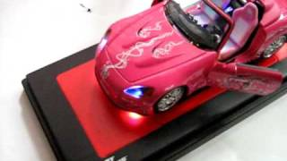 1:18 Scale Honda S2000 Fast and Furious Model with LEDS