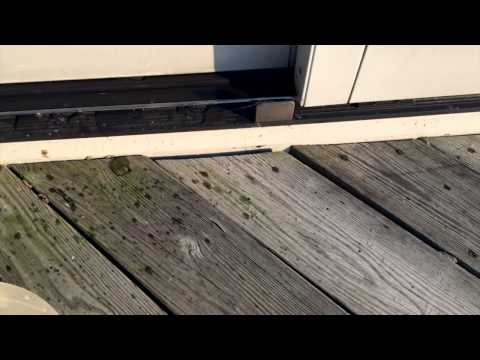 Leaking Pella Door