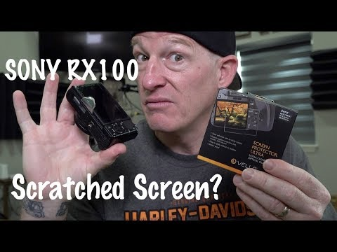 Sony RX100 Scratched Screen? Replacement DIY