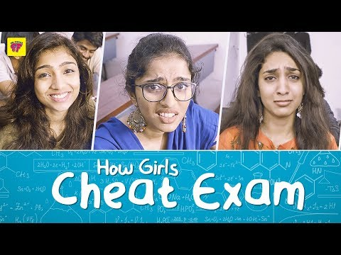How Girls Cheat in Exams | Big Boss Spoof | Girl Formula | Chai Bisket
