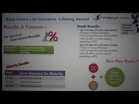 Bajaj Allianz Life Long Assure|Retirement Insurance|PolicyX