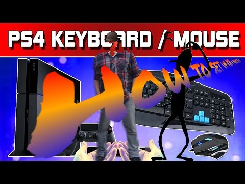 HOW TO USE CONTROLLER WIRELESS KEYBOARD ON PS4 - Ps4 Remote