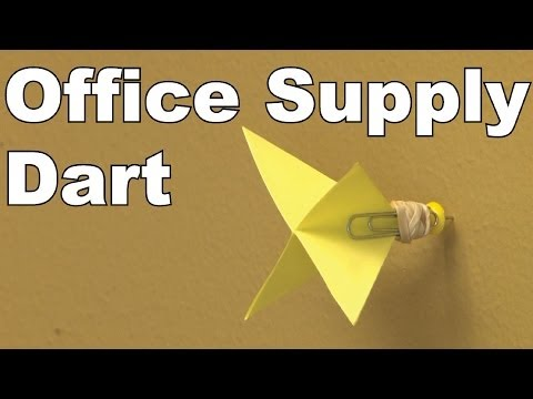 DIY Office Supply Dart