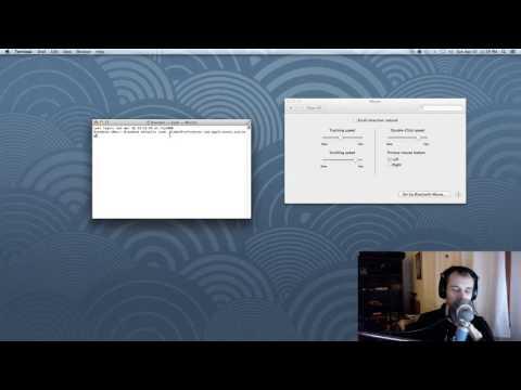 Adjust mouse acceleration on a mac