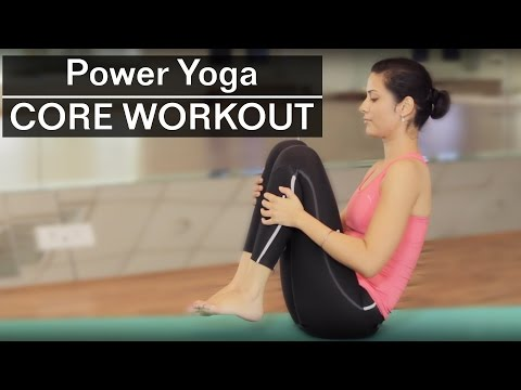 15 Minute Intense CORE POWER YOGA WORKOUT