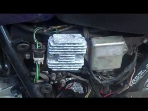 How to diagnose and repair motorcycle charging problems