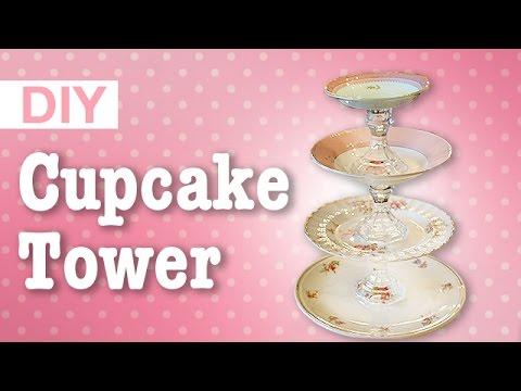 DIY Easy Cupcake Tower | ArtsyPaints