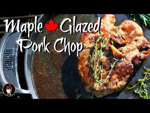 Pork Chop Recipe   Maple Balsamic Glazed Pork Tenderloin