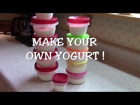 Homemade Greek Yogurt DIY SAVE $$$