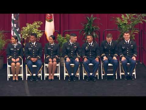 2018 ROTC Commissioning Ceremony