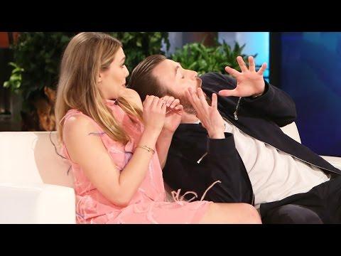 Iron Man Scares Chris Evans On Ellen