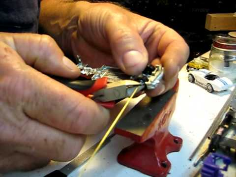 Hot Wheels how to make your own axles
