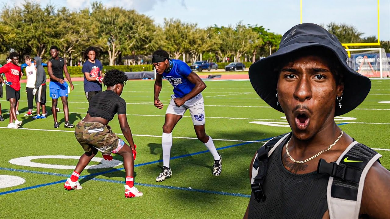 THIS IS HOW GOOD THE BEST 7ON7 TEAM IN FLORIDA IS.. (1ON1'S & 7ON7'S)