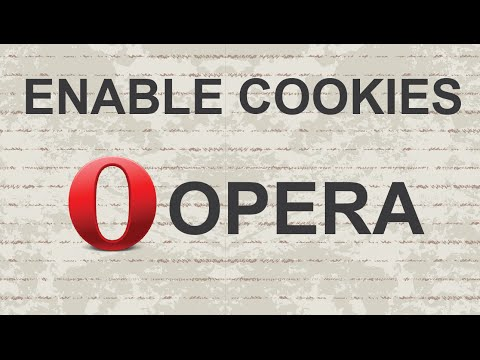How to Enable Cookies in Opera