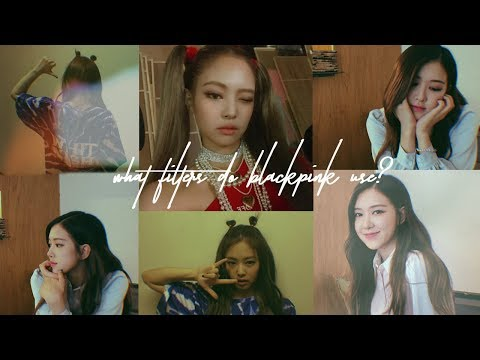 WHAT FILTERS DO BLACKPINK USE? How I Edit My Instagram Pictures pt. 2 | diane 다이앤