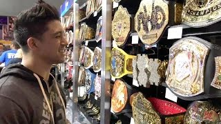 Check out the WrestleMania Superstore with TJ Perkins