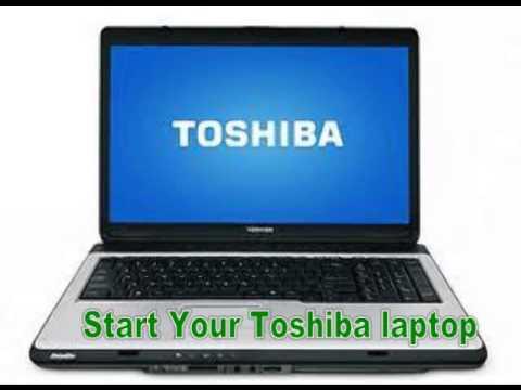 Toshiba laptop password reset