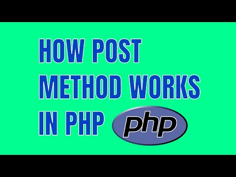 How POST Method Works in PHP? Submit & Display HTML Form Data Using PHP POST Function