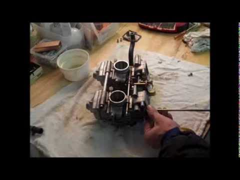 Ski-Doo MXZ 600 HO Adrenaline Carb Removal and Cleaning Part 2 of 2