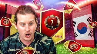 HERO WALKOUT IN A PACK! 7TH IN THE WORLD FUT CHAMPS REWARDS! FIFA 18 ULTIMATE TEAM