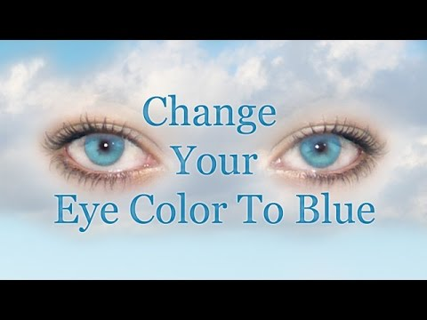 Change Your Eye Color To Blue Naturally (Subliminal)