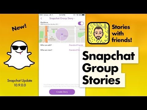 How to Use Snapchat Group Stories