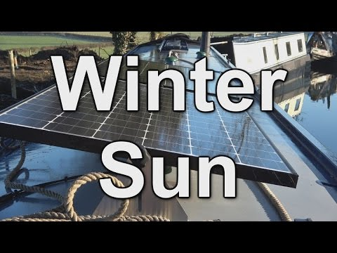 76. Is solar power sufficient for a canal narrowboat in an English winter?