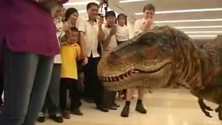 Костюм динозавра реалистичный