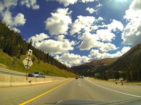 Vail to Denver in 2.5 Minutes - I-70 Time Lapse