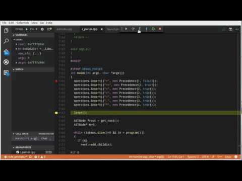 vscode debug in linux with gdb