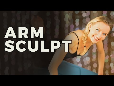 Yoga Sculpt: Yoga For Arms & Upper Body | No Weights Needed for this Arm Workout for Women