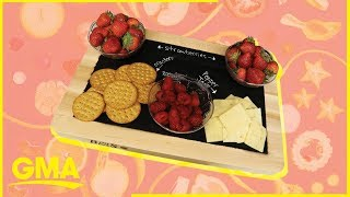 Impress your friends with this DIY chalkboard tray | GMA