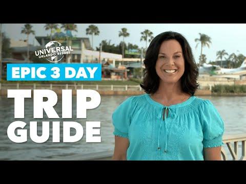 3 Day Trip Planner for Universal Orlando Resort