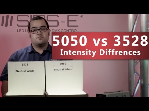 5050 vs 3528 LED Strip Intensity Differences High Quality