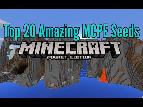 Top 20 Best Minecraft PE Seeds 0.14.2, 0.14, 0.13.2, 0.13 [2016]